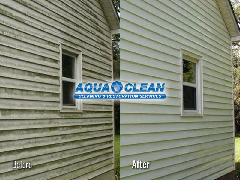 Fox Valley WI Home Siding Soft Washing