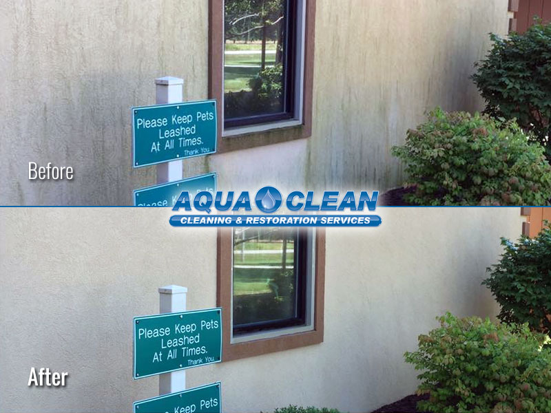 Fox Valley WI Commercial Building Soft Washing