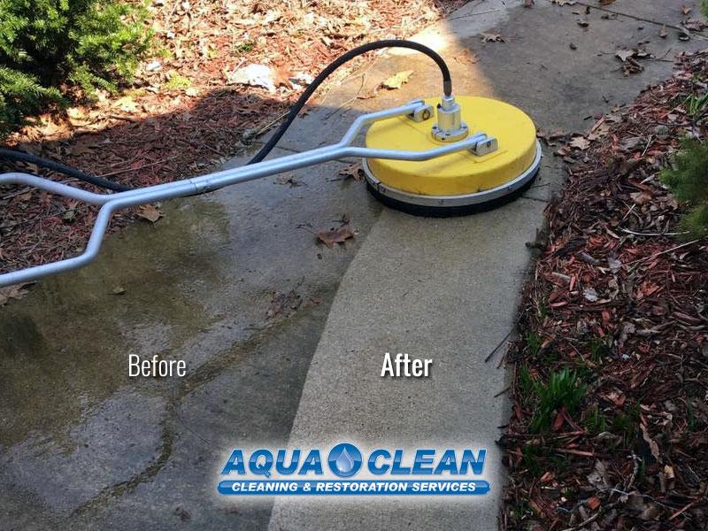 Fox Valley WI Sidewalk Pressure Washing