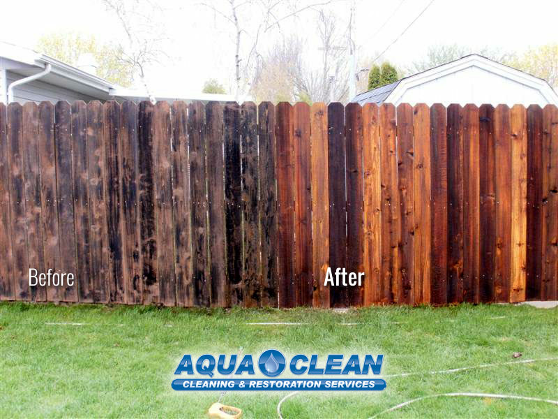 Fox Valley WI Wood Fence Restoration