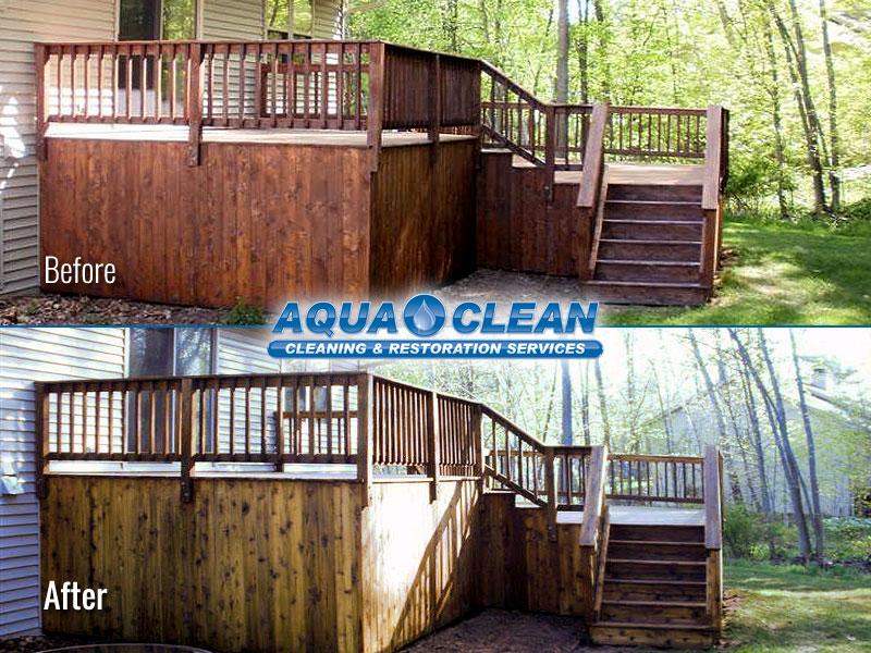 Fox Valley WI Wood Deck Restoration