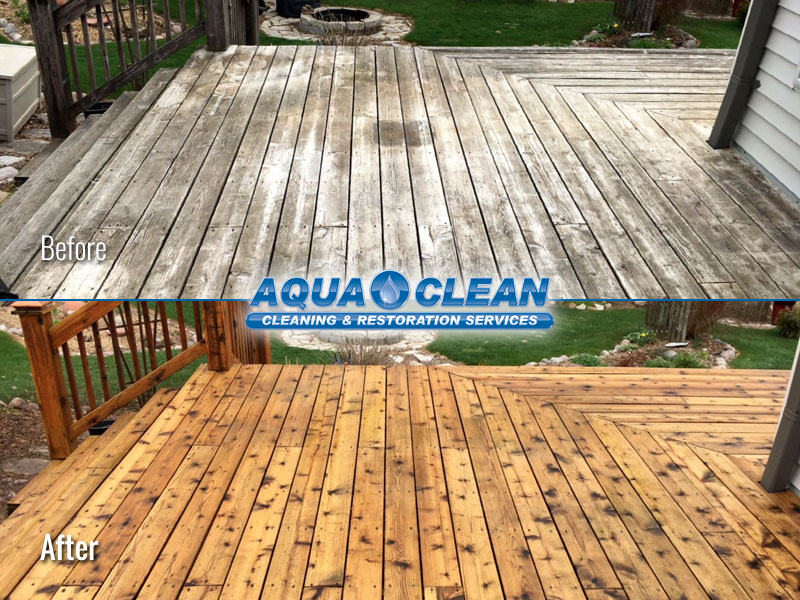 Fox Valley WI Wood Deck Restoration