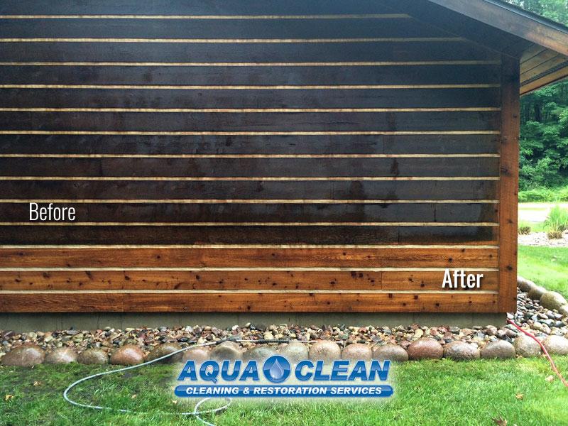 Fox Valley WI Log Home Restoration